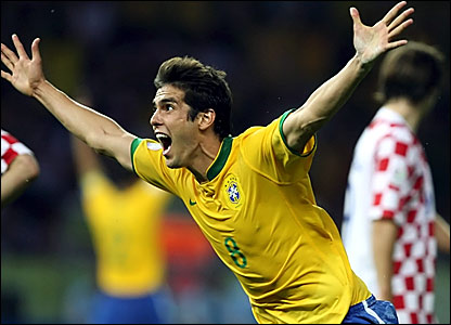 "Ricardo ""Kaka"" Izecson  Top 10 Best Soccer Players in 2012"