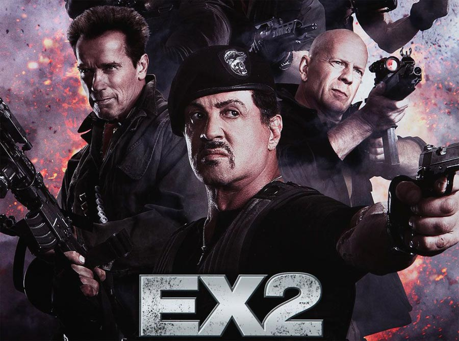 The Expendables 2 Top 10 Most Anticipated Movie Sequels of 2012