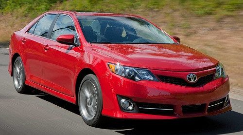 Toyota Camry 2012 Top 10 Most Fuel Efficient Cars   2012