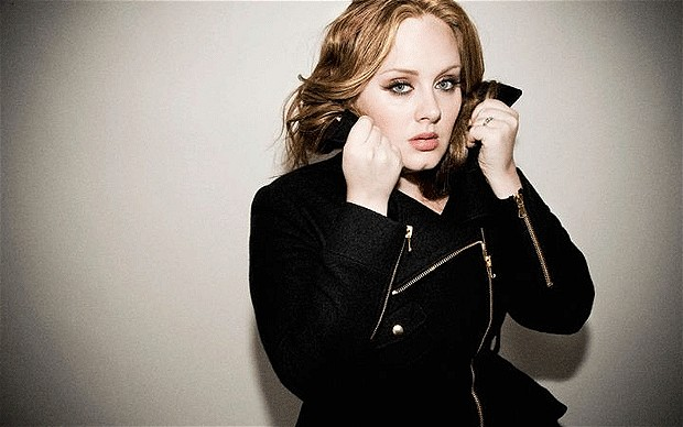 adele 2012 Top 10 Most Popular Females Singers in 2012