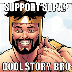 funny sopa 10 Major Companies Which Are Supporting SOPA/PIPA