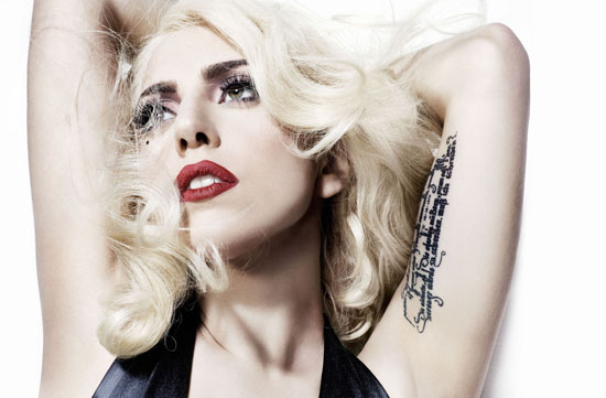 lady gaga 2012 Top 10 Most Popular Females Singers in 2012