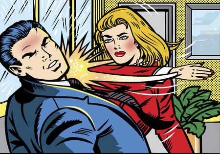 woman slapping man 10 Things Never to Say to a Girl