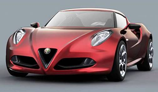 1. Alfa Romeo 4C Top 10 Concept Cars of 2012
