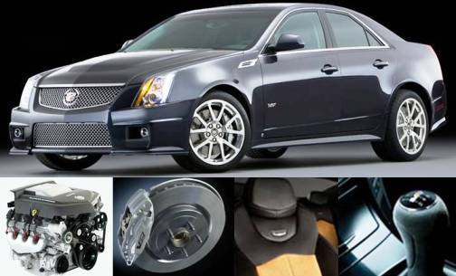 1. Cadillac CTS V Sedan Top 10 Most Luxurious Cars in 2012
