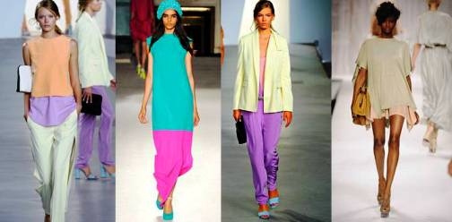 1. Sherbet Shades Top 10 New York Fashion Week Spring 2012 Trends 