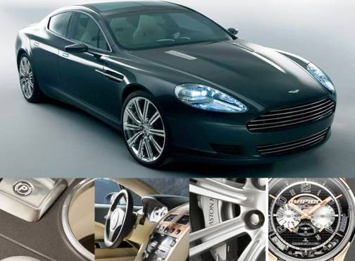 10. Aston Martin Rapide Luxe Top 10 Most Luxurious Cars in 2012
