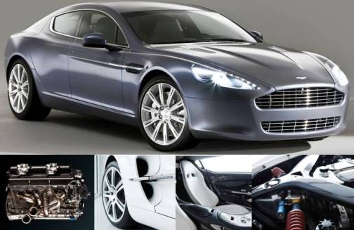 2. Aston Martin One 77 Top 10 Most Luxurious Cars in 2012