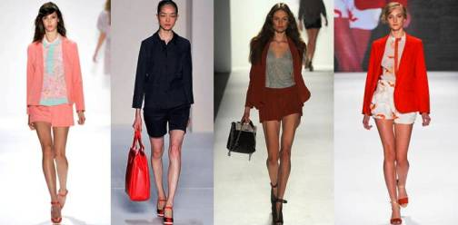 2. Short Suits Top 10 New York Fashion Week Spring 2012 Trends 