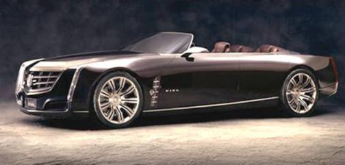 3. Cadillac Ciel Top 10 Concept Cars of 2012