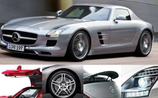 3. Mercedes SLS AMG Coupe Top 10 Most Luxurious Cars in 2012