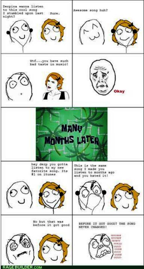 3. Not So Yesterday Hit Today 10 Funniest Rage Comics
