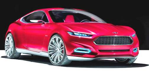 4. Ford Evos Top 10 Concept Cars of 2012