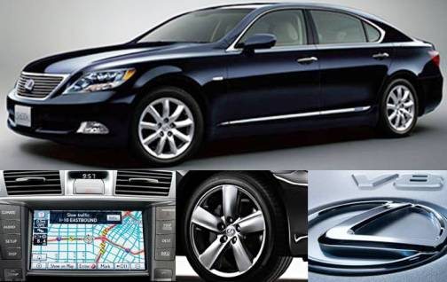 4. Lexus LS 460 L AWD Top 10 Most Luxurious Cars in 2012