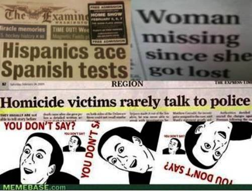 4. Stupid Funny Headlines 10 Funniest Rage Comics