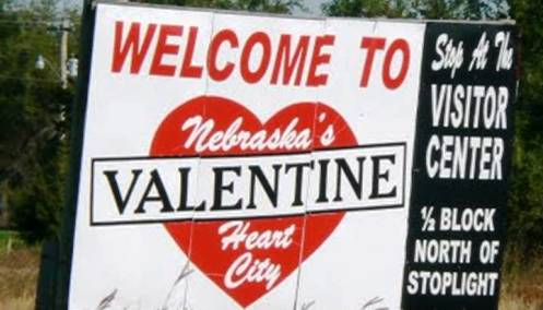 4. Valentine Nebraska 10 Places to Go On Valentines Day 2012