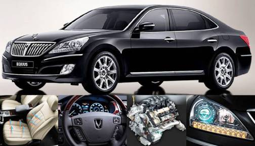 5. Hyundai Equus Top 10 Most Luxurious Cars in 2012