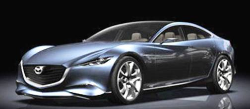 6. Mazda Shinari Top 10 Concept Cars of 2012