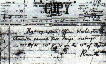 7. A Warning Was Given Early On e1328716645913 10 More Facts About Titanic   100th Anniversary Special