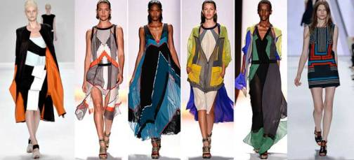 7. Geometrical Forms Top 10 New York Fashion Week Spring 2012 Trends 