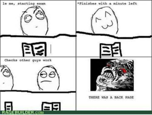 7. Oh the Stupid Essay 10 Funniest Rage Comics