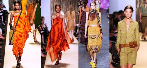 8. African Look Top 10 New York Fashion Week Spring 2012 Trends 