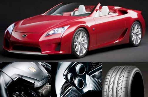 8. Lexus LFA e1328267750505 Top 10 Most Luxurious Cars in 2012