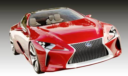 9. Lexus LF LC Top 10 Concept Cars of 2012