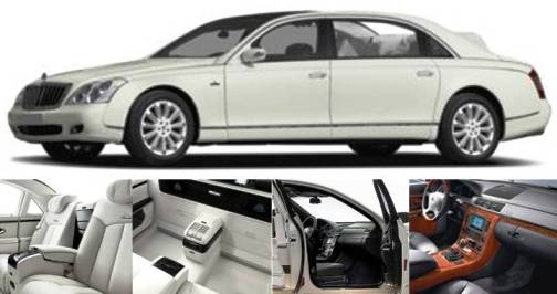 9. Maybach Landaulet Top 10 Most Luxurious Cars in 2012