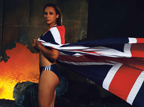 Jessica Ennis 10 Hottest Female Athletes You Want To See In Olympics 2012
