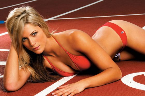 Melanie Adams hot 10 Hottest Female Athletes You Want To See In Olympics 2012