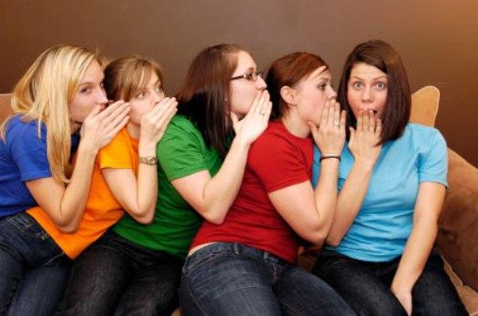 gossiping women 10 Most Annoying Habits of Women