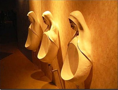 10. Holy Pee e1332152888713 10 Most Bizarre Toilets The World Have Ever Seen