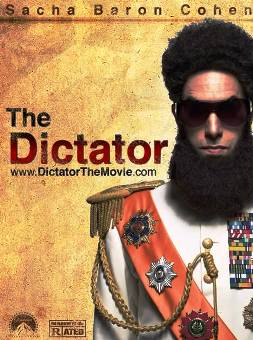 10. The Dictator Top 10 Most Anticipated Movies of 2012
