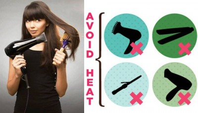 10. Too Much Heat on the Hair e1332171946490 10 Common Hair Mistakes Every Woman Makes