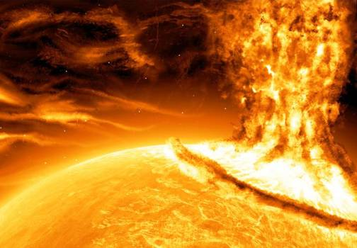 3. Solar Flare Top 10 Theories on How the World Will End