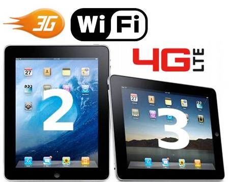 3. Wireless Wi fi 3G4G 10 Differences Between iPad 2 and The New iPad 3