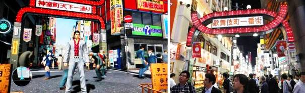 4. Kamurocho 10 Places in Video Games that Actually Exist
