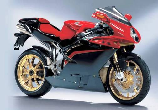 4. MV Agusta F4 Tamburini Top 10 Fastest Motorbikes in 2012