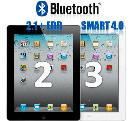 8. Bluetooth 10 Differences Between iPad 2 and The New iPad 3