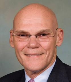 8. James Carville e1331095980692 10 Most Powerful Bald Men on the Planet