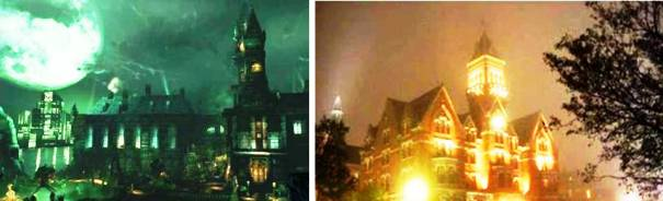 9. Arkham Asylum 10 Places in Video Games that Actually Exist