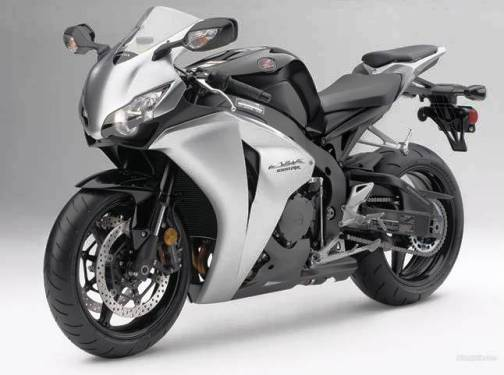 9. Honda CBR1000 RR Top 10 Fastest Motorbikes in 2012
