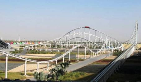 1. Formula Rossa Top 10 Fastest Roller Coaster Rides in the World