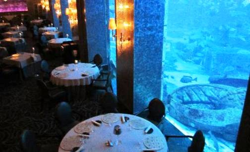 1. Ossiano Top 10 Best Restaurants in Dubai