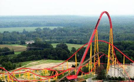 10. Intimidator 305 Top 10 Fastest Roller Coaster Rides in the World