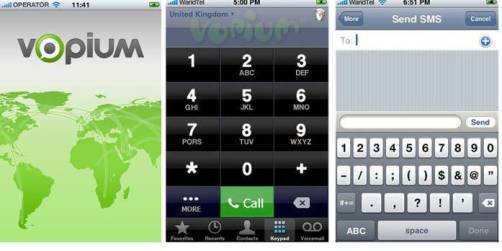 10. Vopium Top 10 iPhone Apps to Make Free Calls