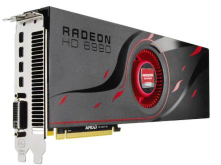 2. AMD Radeon HD 6990 Top 10 Best Graphic Cards in 2012