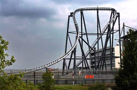 2. Ring Racer Top 10 Fastest Roller Coaster Rides in the World