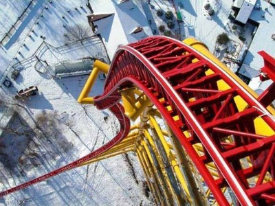 2. Top Thrill Dragster e1334667451166 Top 10 Best Roller Coaster Rides in the World
